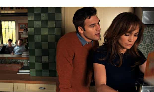 Ryan Guzman and Jennifer Lopez in The Boy Next Door