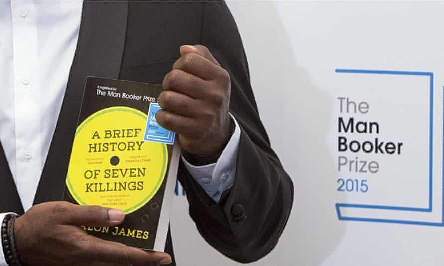 Jamaican author Marlon James pose for ph