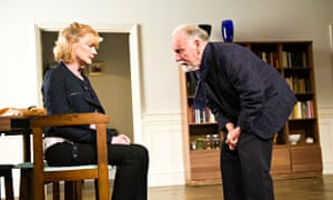 Claire Skinner and Kenneth Cranham in The Father: 'Suddenly you see what father and daughter were to each other.' Photograph: Tristram Kenton