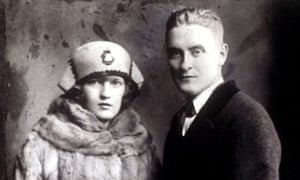 'I had exhausted my resources and there was nothing else to do' … F Scott Fitzgerald with his wife