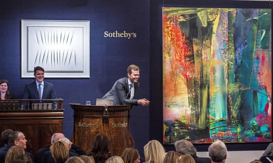 Abstraktes Bild by Gerhard Richter at Sotheby's auction