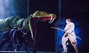 Die Zauberflote at the Royal Opera House, London