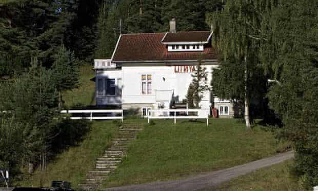 Utoeya Island where Anders Behring Breivik shootings occured, Norway - 23 Aug 2011