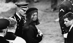 Haunting … Jacqueline Kennedy at John F Kennedy's funeral in Arlington, Virginia, 25 November 1963.