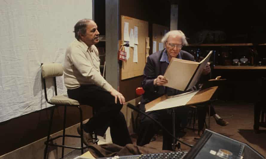 Pierre Boulez and Olivier Messiaen,