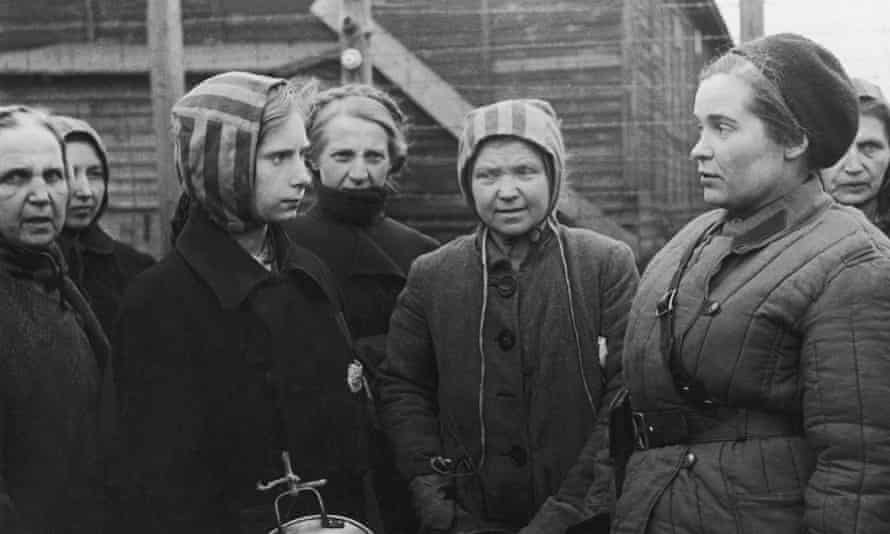Polish Women Released From The Ravensbruck Camp 1945
