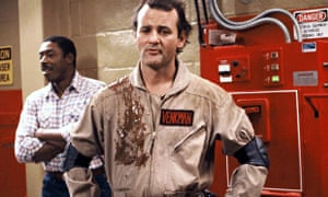 Bill Murray as Dr Peter Venkman in Ghostbusters