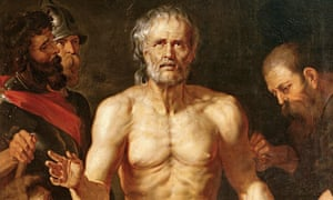 <Death of Seneca> by Peter Paul Rubens