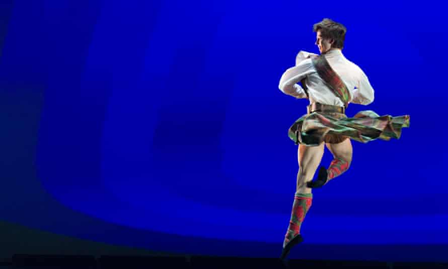 Hamish Scott competes in the BBC Young Dancer competition
