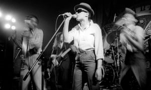 Pauline Black with the Selecter in 1980