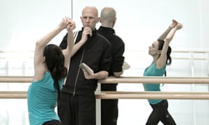 Wayne McGregor and Alessandra Ferri in rehearsal for Woolf Works.