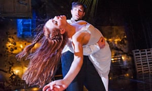 Sarah Twomey and Finn Hanlon in Mermaid