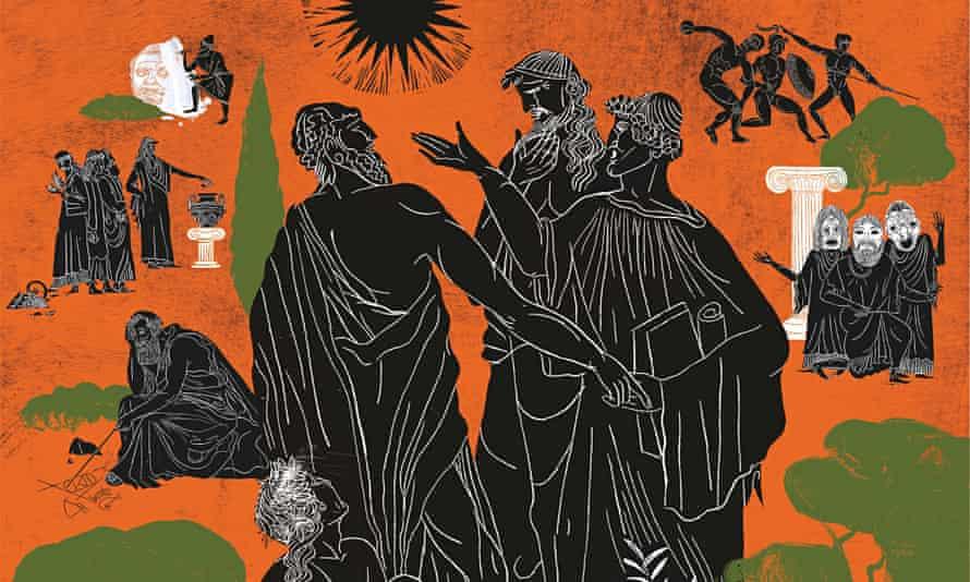 Greeks Illustration