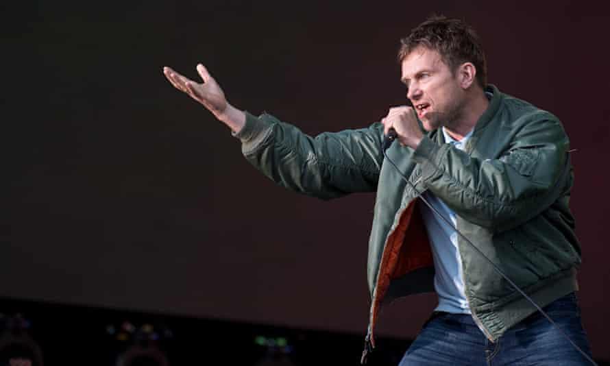 Blur In Concert in London