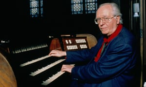 Composer Olivier Messiaen on March 13th , 1988.