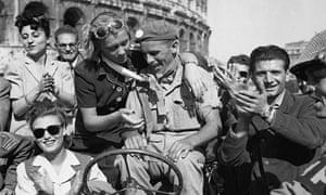 Welcoming the Liberators of Rome