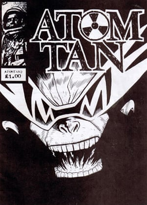 Atomtan cover by Jamie Hewlett