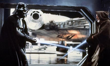 Darth Vader and Obi Wan Kenobi