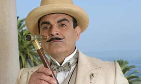 Hercule Poirot and his moustache