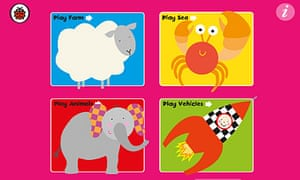 Ladybird Baby Touch app