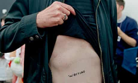 David Shrigley tattoo