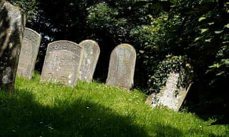 Village churchyard.
