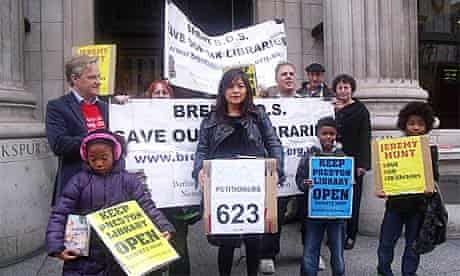Brent libraries protesters