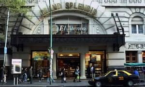 El Ateneo bookshop
