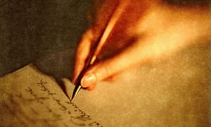 Writing a letter