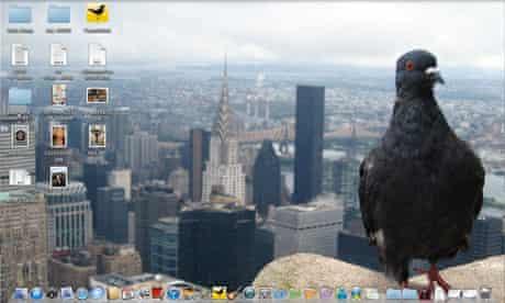 Steven Hall's desktop