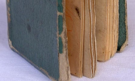 Well-thumbed old book