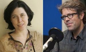 Allegra Goodman and Jonathan Franzen