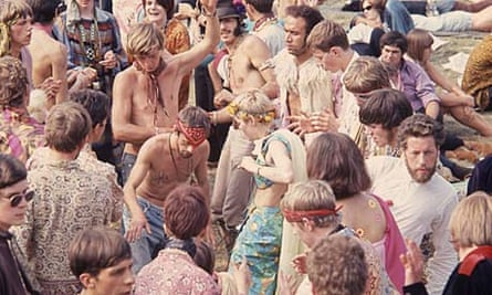 Hippies at Hyde Park 'Love In' 1967