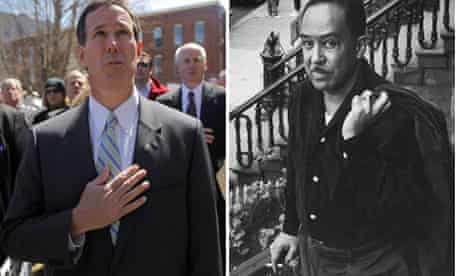 Rick Santorum and Langston Hughes