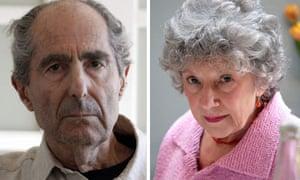 Philip Roth and Carmen Callil