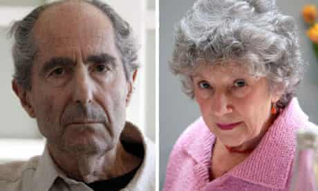 Philip Roth and Carmen Callil