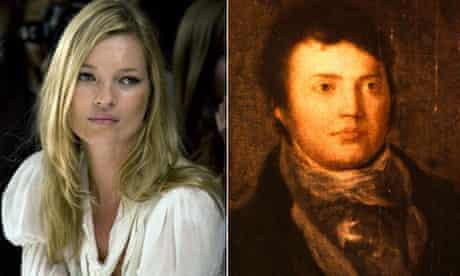 Kate Moss and Samuel Taylor Coleridge