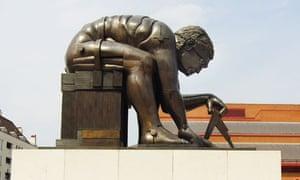 Statue of Newton
