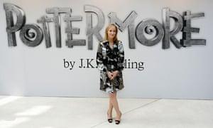 JK Rowling announces Pottermore.
