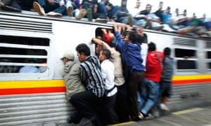 Jakarta commuters