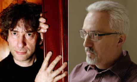 Neil Gaiman and Alan Hollinghurst