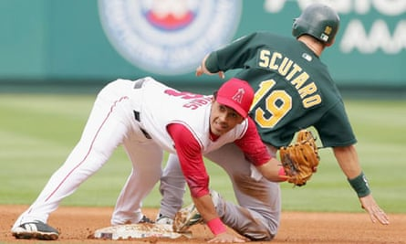 Oakland Athletics v Los Angeles Angels