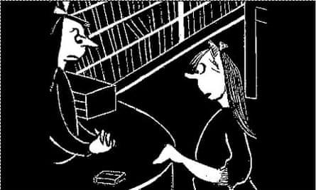 Flannery O'Connor cartoon