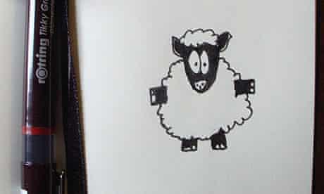 Sheep notebook
