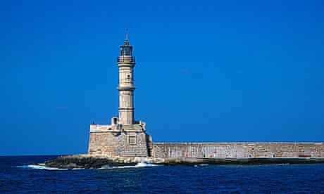 Venetian lighthouse in Chania, Crete