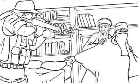 9 11 Childrens Colouring Book Angers US Muslims