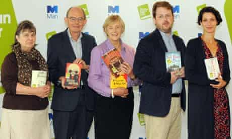 Man Booker prize judges