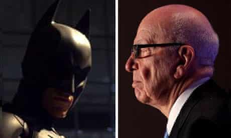 Batman and Rupert Murdoch