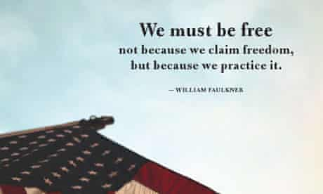 Faulkner freedom quote