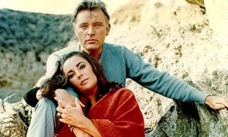 Richard Burton and Elizabeth Taylor in 1965